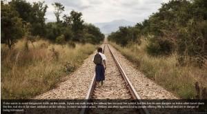 Bron BBC: Tanzanian girl's long walk to education.